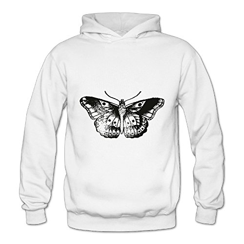 Lennakay Work Adult's Tatto Of Best Boxer Hoodie With No Pocket White For Woman SizeXL