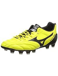 Mizuno Shoes Football Men Morelia Neo UT MD Yellow Black