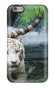 Anne C. Flores's Shop Best Tpu Case For Iphone 6 With White Tiger Beautiful 2403324K97891039