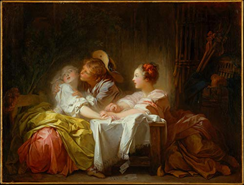 Jean-Honore Fragonard The Stolen Kiss 1760 Metropolitan Museum of Art New York, NY 30