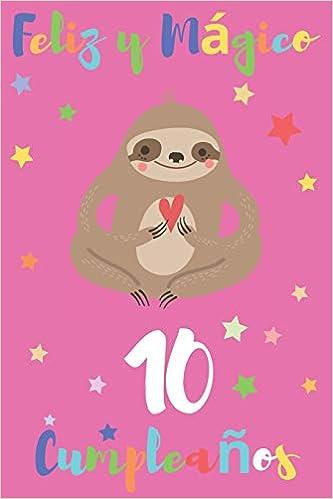 Feliz y Mágico 10 Cumpleaños: Regalo para Niños o Niñas de ...