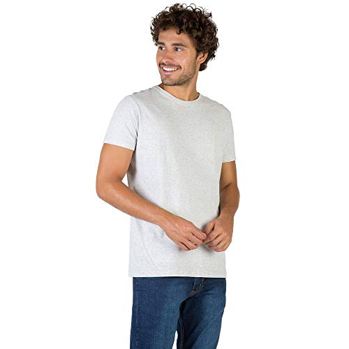 T-Shirt Básica Mescla Comfort Cru CRU/P