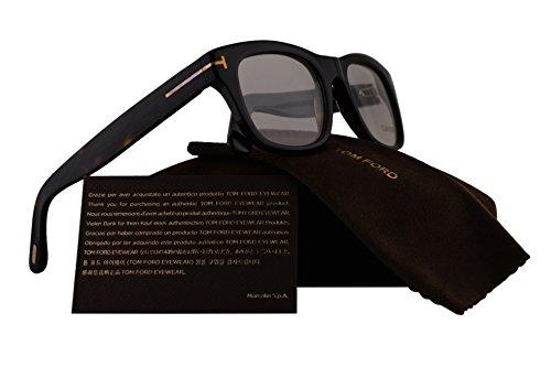 Tom Ford FT5472 Eyeglasses 51-20-145 Dark Havana w/Demo Clear Lens 052 TF5472 FT 5472 TF - Frames Glasses Sale Tom Ford