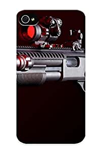 Crooningrose Durable Rifle Back Case/ Cover For Iphone 4/4s For Christmas