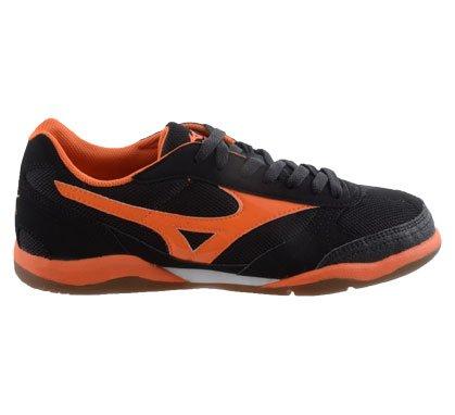 """Mizuno Futbol Sala de 3 de Fútbol, Zapatos de 19855"""" door (Interior) Nero/Arancione Talla:40 Nero/Arancione"""