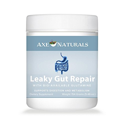 Axe Naturals Leaky Gut Repair with Licorice Root and L-Glutamine, 143.64 grams