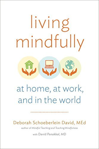 Living Mindfully: At Home, at Work, and in the World by Deborah Schoeberlein David (2015-11-24)