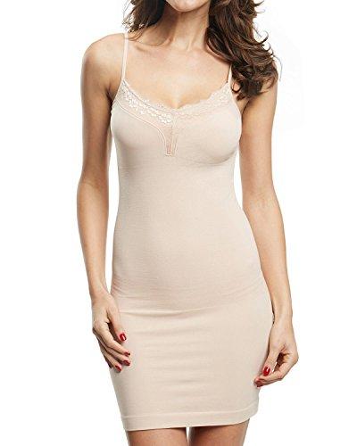 Franato Women's Full Body Slip Shapewear Control Dress Seamless Body Shaper...