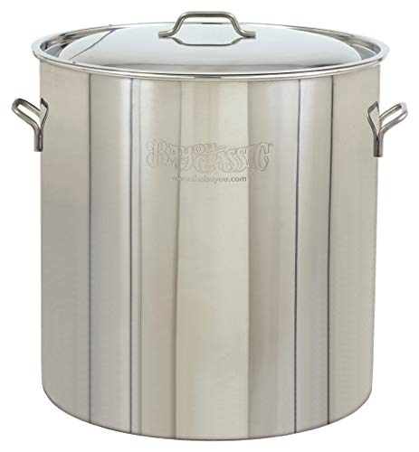 Bayou Classic 1082, 82-Qt. Stainless Fryer/Steamer (Renewed) ()