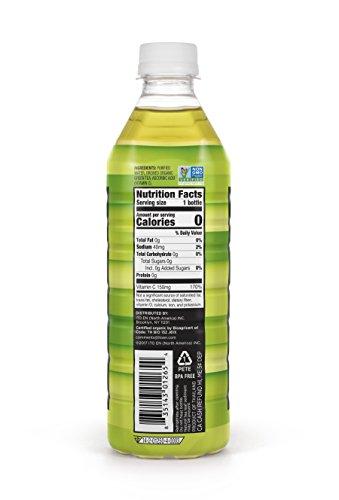 Teas' Tea Organic Cold Brew Unsweetened Green Tea (Pack of 12) Organic Zero Calories No Sugars No Artificial Sweeteners Antioxidant Rich High in Vitamin C
