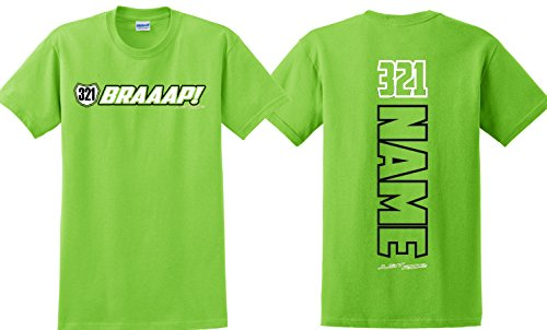 JUST RIDE Youth Braaap! Motocross Number Plate Shirt MX Moto
