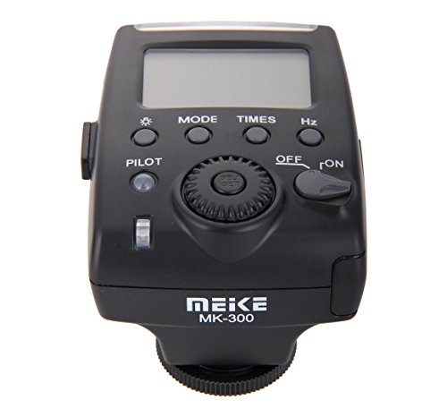 Mcoplus MK-300 LCD i-TTL TTL Speedlite Flash Light w/ Mini USB Interface on Nikon by Mcoplus