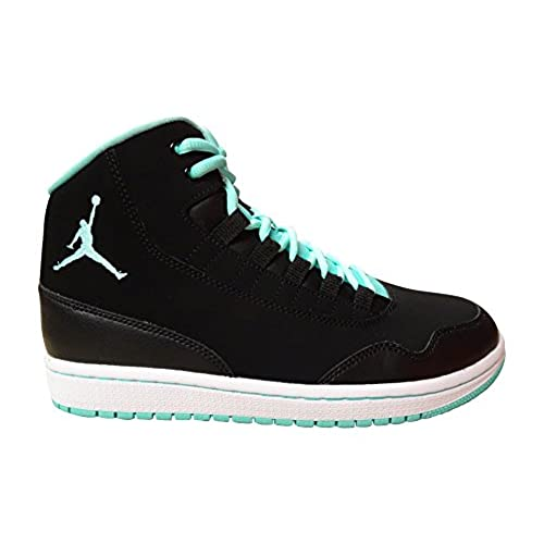 timeless design 8aef5 f4cc7 80%OFF Nike Air Jordan Executive Mens Hi Top Basketball Trainers 820240 Sneakers  Shoes (US 8, black hyper turquoise white 008)