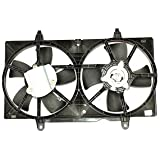 TYC 620420 Nissan Replacement Radiator/Condenser Cooling Fan Assembly