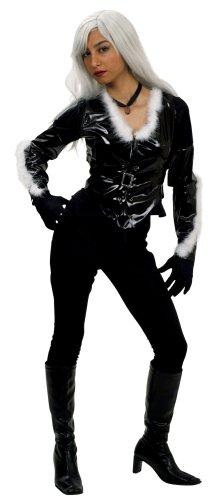 Marvel Black Cat Costume - Size 10/12  sc 1 st  Amazon UK & Marvel Black Cat Costume - Size 10/12: Amazon.co.uk: Toys u0026 Games