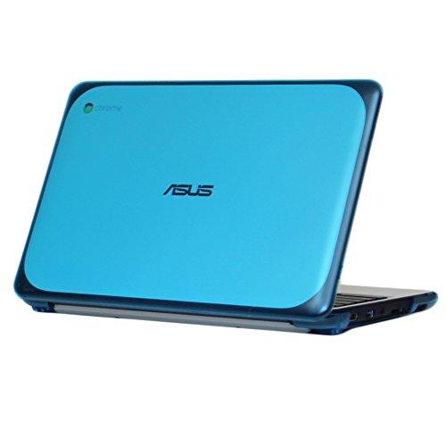 iPearl-mCover-Hard-Shell-Case-for-116-ASUS-Chromebook-C202SA-series-laptop---AQUA