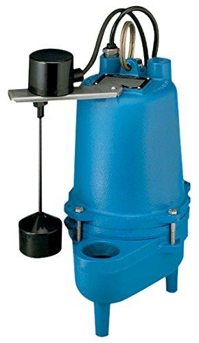 Barnes 100836 Model SE411VF Sewage Pump with Float Switch, 4/10 hp, 115V, 1 Phase, 2