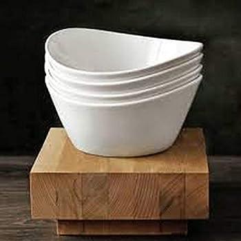 Amazon.com | Over & Back 4-Piece \'What a Dish\' Porcelain Bowl Set ...