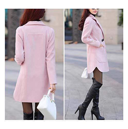 o chaqueta lana algod oto de de Abrigo en e invierno aInqRZf0x