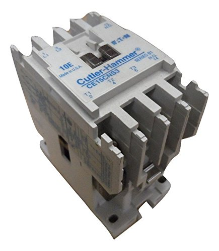 EATON CUTLER HAMMER CE15CNS3AB IEC OPEN 3P CONT SZ C 120V COIL - FOR REPLACEMENT ONLY