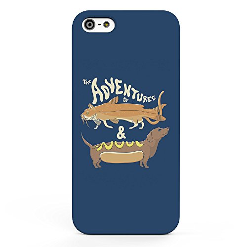 Koveru Back Cover Case for Apple iPhone 5S - The Adventure