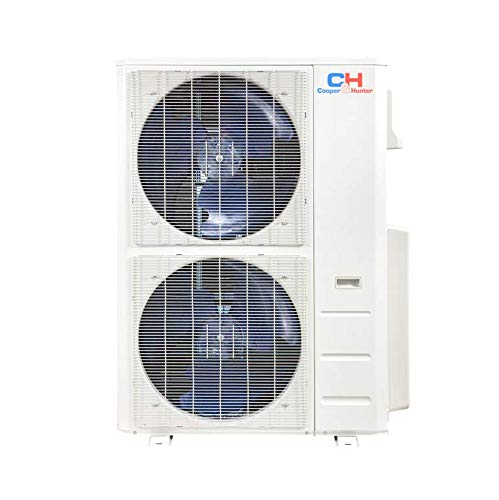 COOPER AND HUNTER Five 5 Zone Ductless Mini Split Air Conditioner Heat Pump 9000 9000 12000 12000 18000 Full Set WiFi