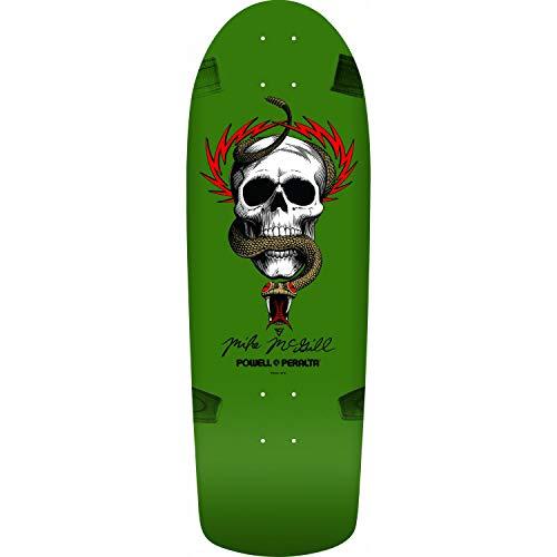 Powell-Peralta Re-Issue Skateboard Deck OG McGill Skull Snake Green 10