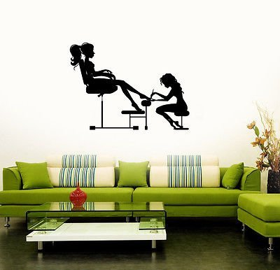Beauty Salon Nail Spa for Woman Girl Wall Stickers Vinyl Decal VS152