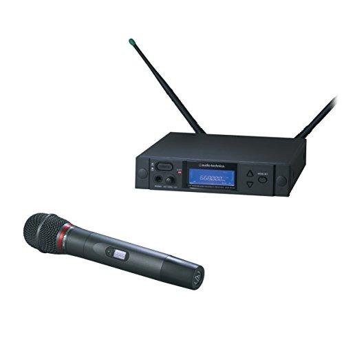 (Audio-Technica AEW-4240AC 4000 Series Wireless Dynamic Handheld Microphone System)