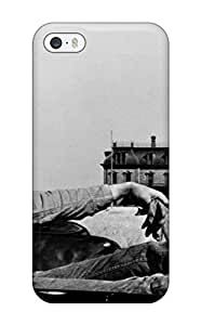 AnnaSanders Scratch-free Phone Case For Iphone 5/5s- Retail Packaging - Photography Black And White People Photography