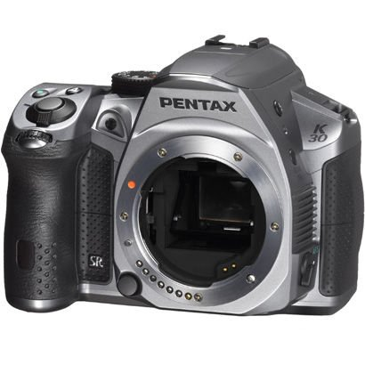 UPC 616932805806, Pentax K-30 Weather-Sealed 16 MP CMOS Digital SLR (Silky Silver)