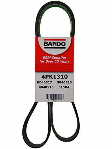 Accessory Drive Belt - Bando 4PK1310 OEM Quality Serpentine Belt