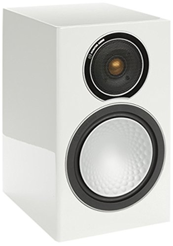 Monitor Audio - Silver Series 1 - 2-way Compact Loudspeakers - Pair - Gloss White