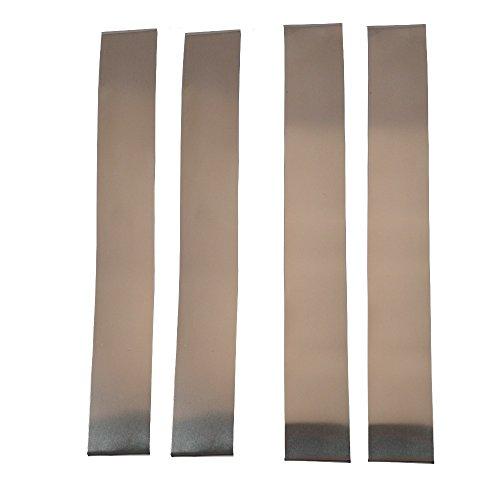 XCLUDER 162942 Garage Door Rodent Shield, Stainless Steel, 2 Door Kit (Pack of 4)