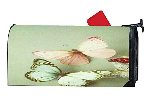 (Butterfly in My Heart Mailbox Covers Personalized,Vinyl Mailbox Covers Magnetic,Mailbox Covers and Wraps for Plastic Mailbox)
