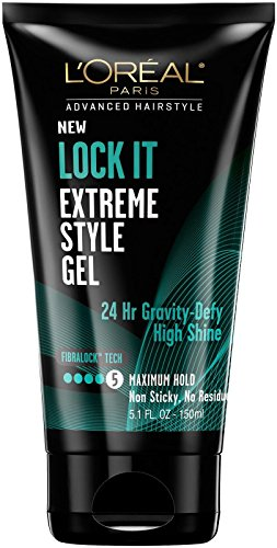 (L'Oréal Paris Advanced Hairstyle LOCK IT Extreme Style Gel, 5.1 fl. oz.)
