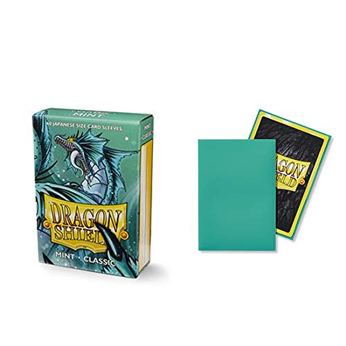 Dragon Shield Classic Mini Japanese Mint 60 ct Card Sleeves Individual Pack