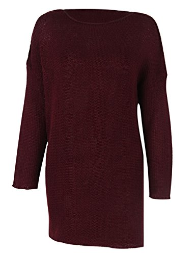 Rouge shermie shermie Pull Vin Pull Femme Femme Rouge nwxqOp7F