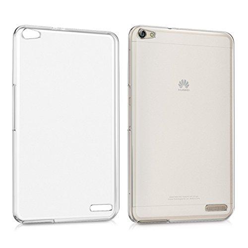 kwmobile Crystal Hülle für Huawei MediaPad X2 7.0 TPU Silikon Case - dünne durchsichtige Tablet Schutzhülle Cover in Matt Transparent