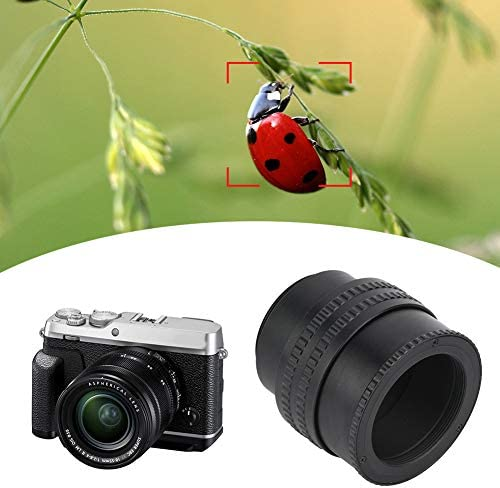 Mugast レンズアダプターリング M42〜M42 フォーカスヘリコイドレンズアダプター マクロチューブアクセサリー25-55mmカメラレンズ 対応