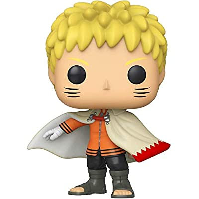 Pop Boruto Naruto (Hokage) Pop Figure (AAA Anime Exclusive) Vinyl Figure (Bundled with .5mm pop Protector case): Home & Kitchen