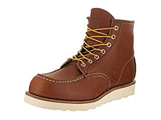 "Red Wing Shoes Men's Moc-Toe 6"" Oro/Legacy Boot 11.5 Men US (B004X176L8) 