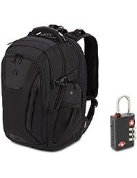 5358 USB ScanSmart Laptop Backpack. Abrasion-Resistant & Travel-Friendly Laptop Backpack Exclusive Bundle with Lock