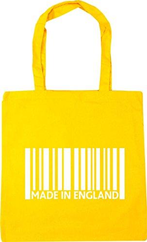 Beach x38cm 10 Yellow litres Tote Shopping in Made 42cm HippoWarehouse Gym England Bag gpYOqcxw6U