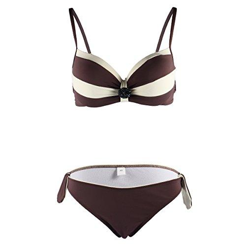 Mysuntown Women Push Up Bikini Padded Swimsuit Bikini Set Bathing Suit Suntown