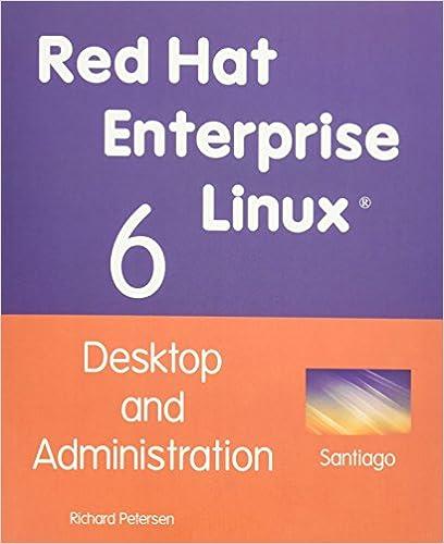 Desktop and Administration Red Hat Enterprise Linux 6