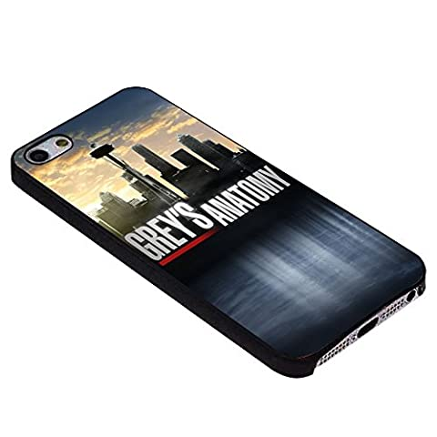 Grey's Anatomy logo For iPhone Case (iPhone 5c black) (Beatles Phone Case 5c)