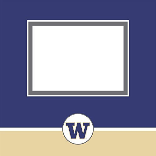 Tapestry by CR Gibson University of Washington Complete Scrapbook Kit, Collegiate Edition by CR. Gibson by CR. Gibson