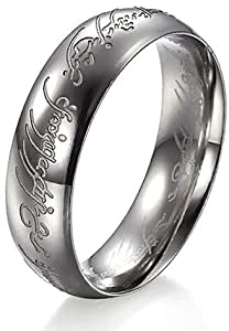 The Lord Ring Titanium Ring For Men Size 9
