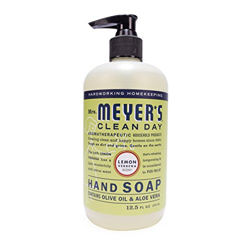 Verbena Natural (Mrs. Meyer's Hand Soap Lemon Verbena, 12.5 Fluid Ounce (Pack of 3))